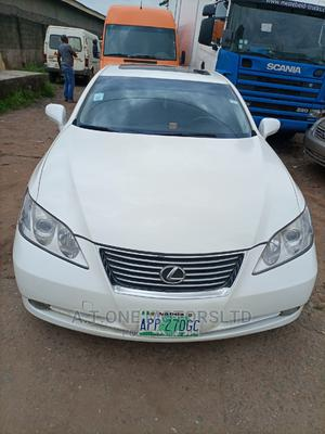 Lexus ES 2009 350 White | Cars for sale in Lagos State, Ejigbo