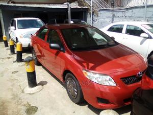 Toyota Corolla 2009 Red   Cars for sale in Lagos State, Ogba