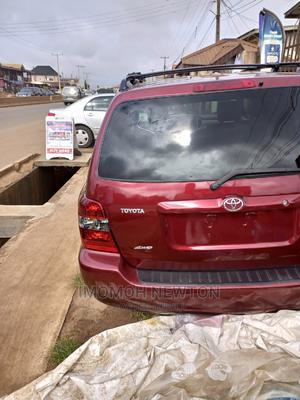 Toyota Highlander 2007 4x4 Red | Cars for sale in Edo State, Benin City