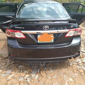 Toyota Corolla 2012 Black   Cars for sale in Abuja (FCT) State, Asokoro