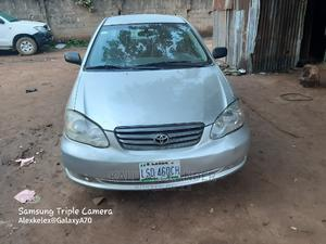Toyota Corolla 2004 1.4 D Automatic Silver   Cars for sale in Lagos State, Ikorodu
