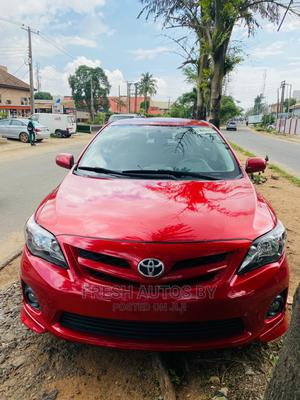 Toyota Corolla 2013 Red   Cars for sale in Lagos State, Magodo