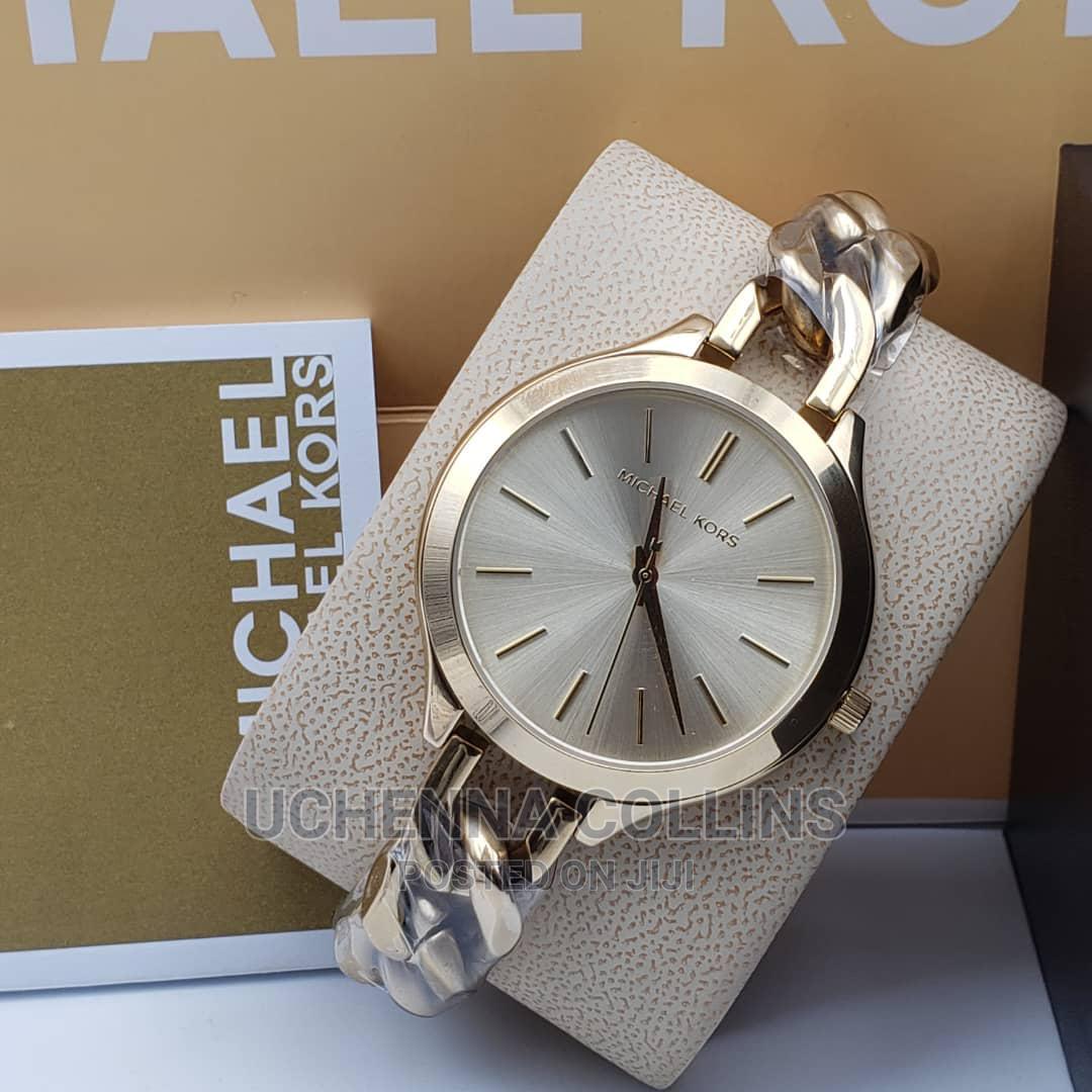 Wearing Watch