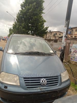 Volkswagen Sharan 2005 1.8 T Blue   Cars for sale in Lagos State, Ifako-Ijaiye