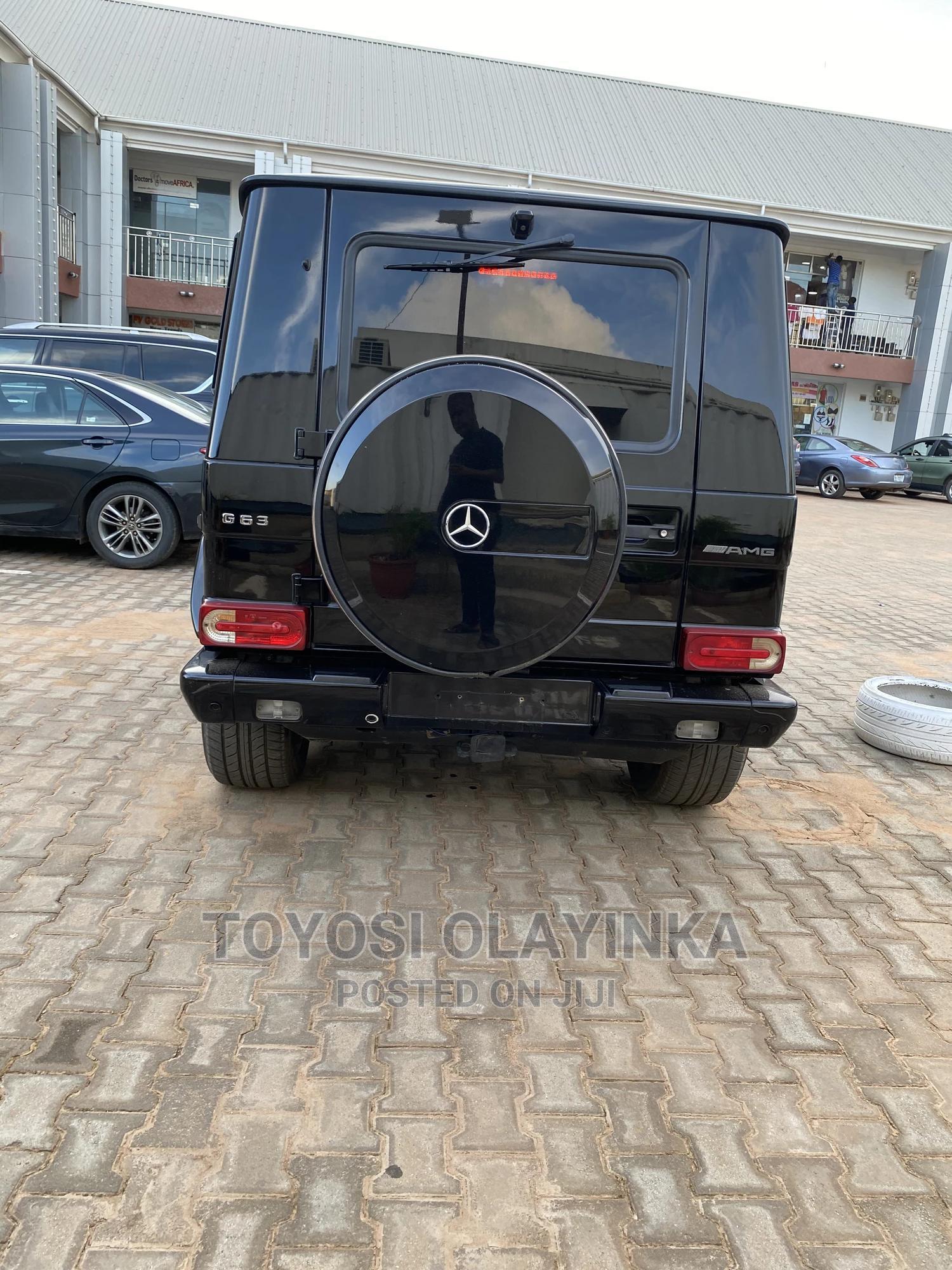 Mercedes-Benz G-Class 2014 Black | Cars for sale in Durumi, Abuja (FCT) State, Nigeria