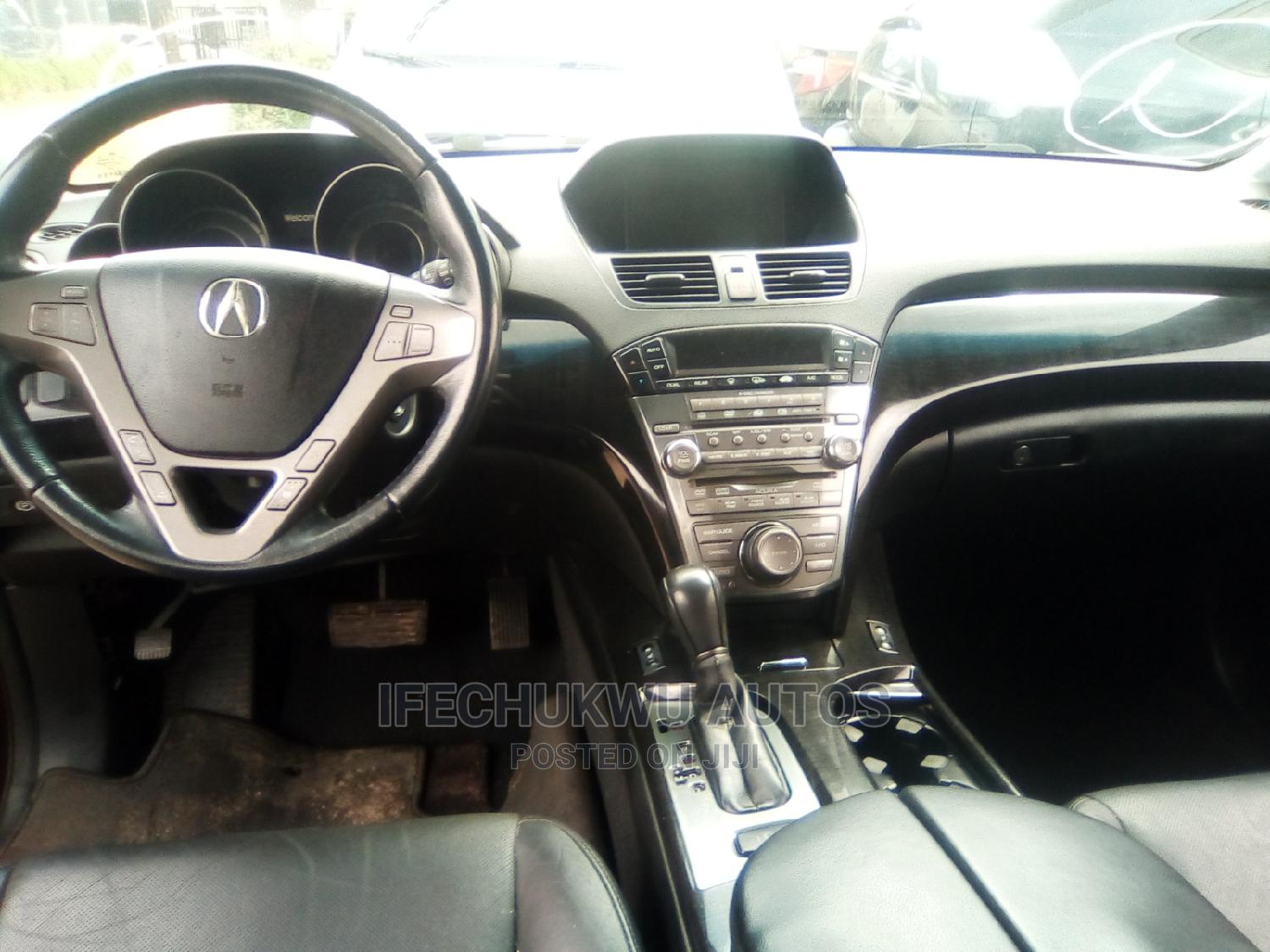 Acura MDX 2009 SUV 4dr AWD (3.7 6cyl 5A) Red | Cars for sale in Ikeja, Lagos State, Nigeria
