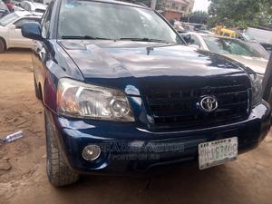Toyota Highlander 2007 Hybrid Limited Blue | Cars for sale in Lagos State, Ikeja