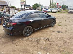 Toyota Corolla 2012 Black | Cars for sale in Abuja (FCT) State, Gwagwalada