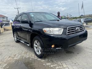 Toyota Highlander 2009 V6 Black | Cars for sale in Lagos State, Ajah