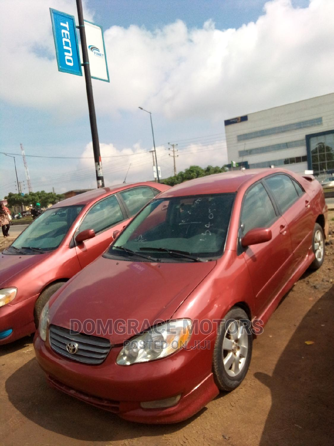 Toyota Corolla 2004 Red   Cars for sale in Maryland, Lagos State, Nigeria