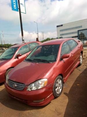 Toyota Corolla 2004 Red | Cars for sale in Lagos State, Maryland
