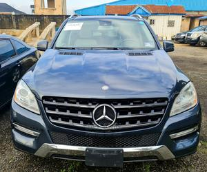 Mercedes-Benz M Class 2012 ML 350 4Matic Blue   Cars for sale in Lagos State, Ojota