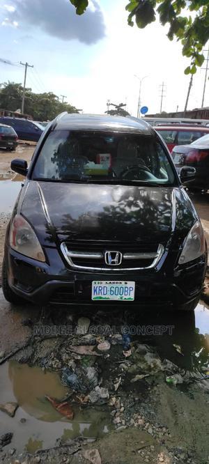 Honda CR-V 2003 2.0i ES Automatic Black | Cars for sale in Lagos State, Ipaja
