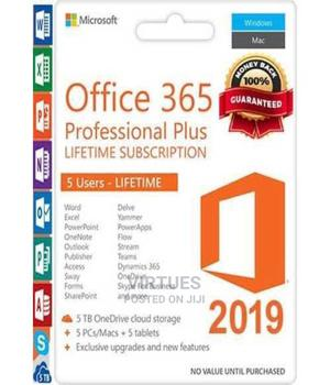 Microsoft Office 365 Professional Plus 5tb - Onedrive Etc | Software for sale in Lagos State, Ikeja