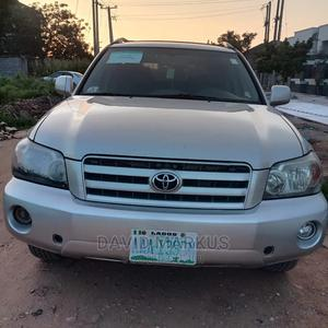 Toyota Highlander 2004 Silver | Cars for sale in Abuja (FCT) State, Jahi