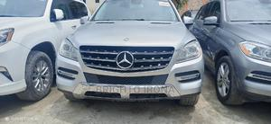 Mercedes-Benz M Class 2012 ML 350 4Matic Gray   Cars for sale in Lagos State, Ajah