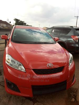 Toyota Matrix 2009 Red | Cars for sale in Lagos State, Ojodu