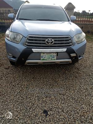 Toyota Highlander 2008 Blue   Cars for sale in Abuja (FCT) State, Kubwa