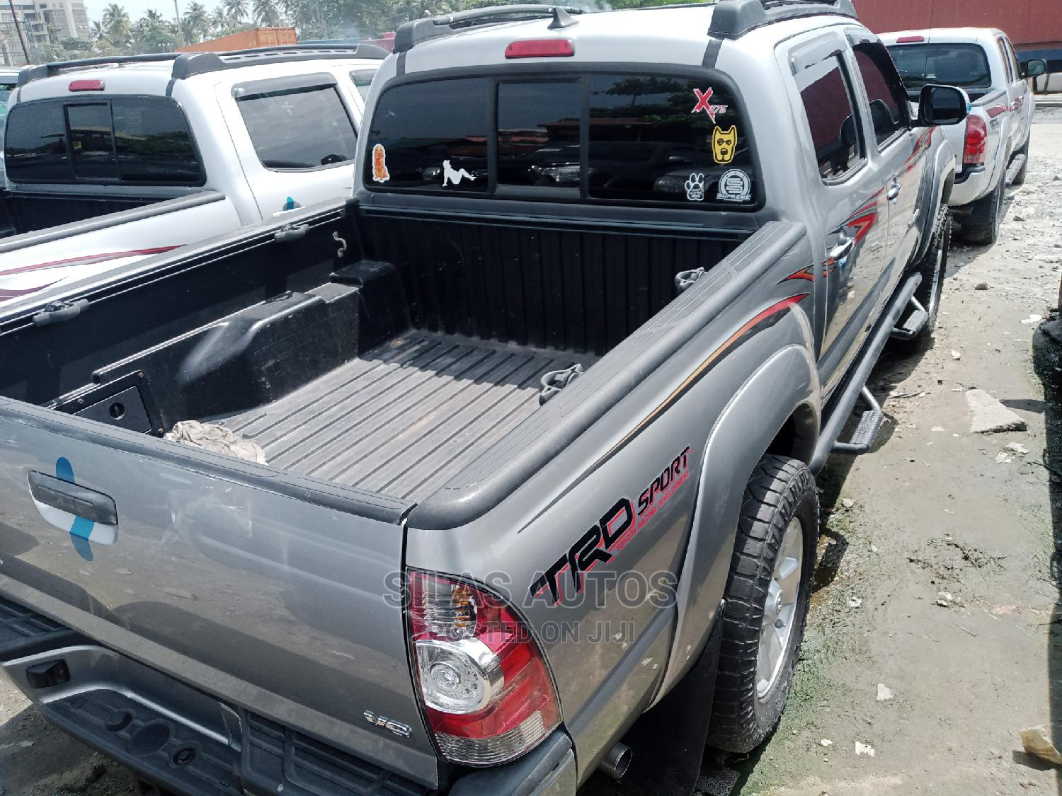 Toyota Tacoma 2015 Gray   Cars for sale in Apapa, Lagos State, Nigeria