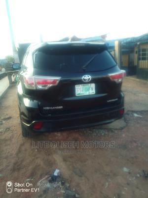 Toyota Highlander 2015 Black | Cars for sale in Lagos State, Ikotun/Igando