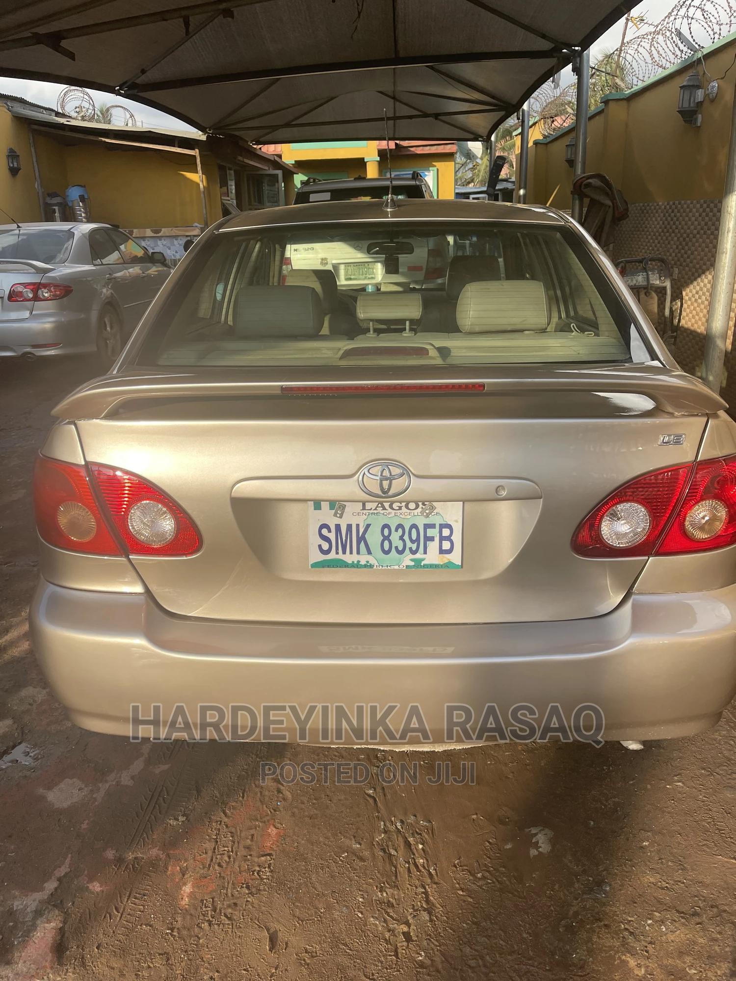 Toyota Corolla 2005 Gold | Cars for sale in Abule Egba, Lagos State, Nigeria