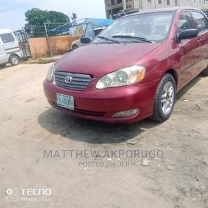 Toyota Corolla 2003 Red | Cars for sale in Lagos State, Ajah