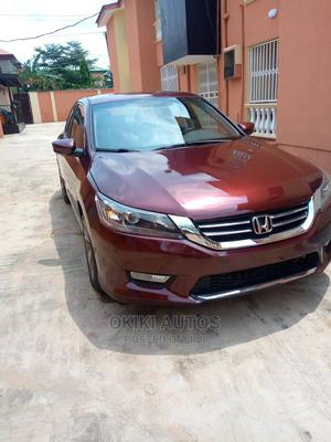 Honda Accord 2014 Red   Cars for sale in Lagos State, Oshodi