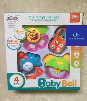 4pcs Baby Bell Rattle | Toys for sale in Lagos State, Apapa