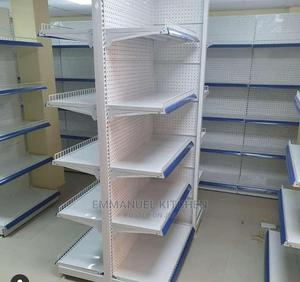 Double Sided Supermarket Shelf | Restaurant & Catering Equipment for sale in Lagos State, Ojo