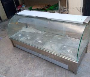 Industrial Food Warmer Curve Glass | Restaurant & Catering Equipment for sale in Lagos State, Ojo