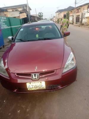 Honda Accord 2005 Red | Cars for sale in Lagos State, Egbe Idimu