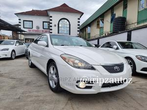 Toyota Solara 2008 3.3 Coupe White | Cars for sale in Lagos State, Ikeja