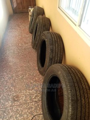 4 Foreign Used Tyres. Bought a Bigger Tyre for Replacement. | Vehicle Parts & Accessories for sale in Lagos State, Surulere
