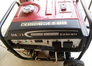 Maxi E33 4kva Generator 100% Copper Coil | Electrical Equipment for sale in Delta State, Udu