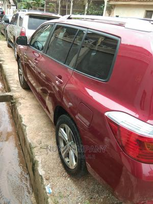 Toyota Highlander 2008 Sport Red   Cars for sale in Lagos State, Ikeja
