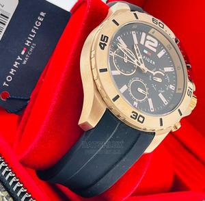 Tommy Hilfiger Rubber Strap Wristwatch | Watches for sale in Lagos State, Lagos Island (Eko)