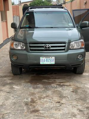 Toyota Highlander 2005 Green   Cars for sale in Lagos State, Ikorodu