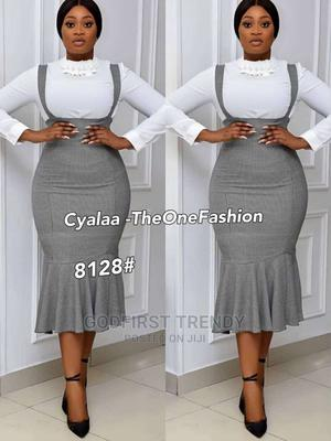 Quality Female Coperate Gown With Shirt   Clothing for sale in Lagos State, Lagos Island (Eko)