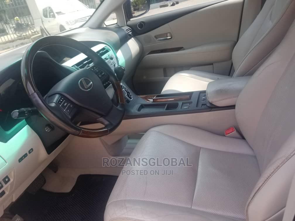 Archive: Lexus RX 2010 Gray
