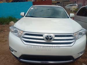 Toyota Highlander 2012 White   Cars for sale in Lagos State, Ojodu