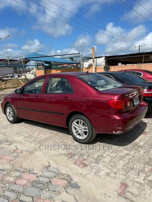 Toyota Corolla 2004 Red | Cars for sale in Lagos State, Ajah
