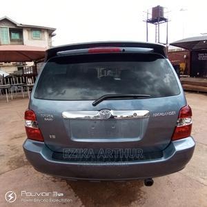 Toyota Highlander 2003 Limited V6 AWD Blue   Cars for sale in Enugu State, Enugu
