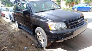 Toyota Highlander 2003 V6 AWD Black | Cars for sale in Lagos State, Magodo