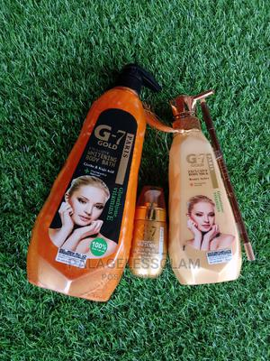 G7 Gold Lotion,Showergel N Serum   Skin Care for sale in Abuja (FCT) State, Kuje