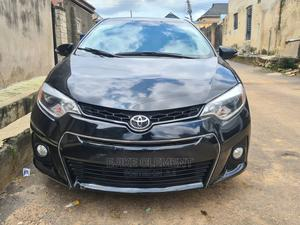 Toyota Corolla 2016 Black   Cars for sale in Lagos State, Ogba