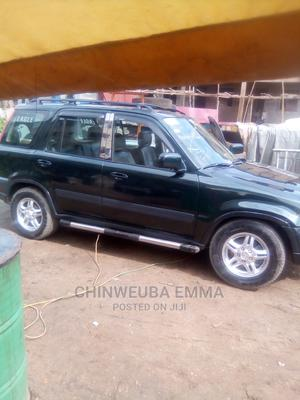 Honda CR-V 1999 2.0 Automatic Green   Cars for sale in Lagos State, Amuwo-Odofin