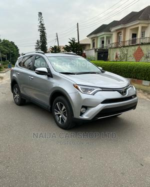Toyota RAV4 2017 XLE FWD (2.5L 4cyl 6A) Silver | Cars for sale in Lagos State, Ikeja