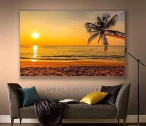 Sunset Ocean Canvas Frame | Home Accessories for sale in Lagos State, Alimosho