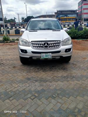 Mercedes-Benz M Class 2008 ML 350 4Matic Silver | Cars for sale in Lagos State, Lekki