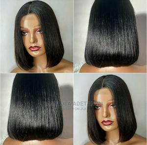 Human Hair Bob Wig   Hair Beauty for sale in Lagos State, Yaba